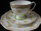 Royal Standard Deco tea trio Art Deco period